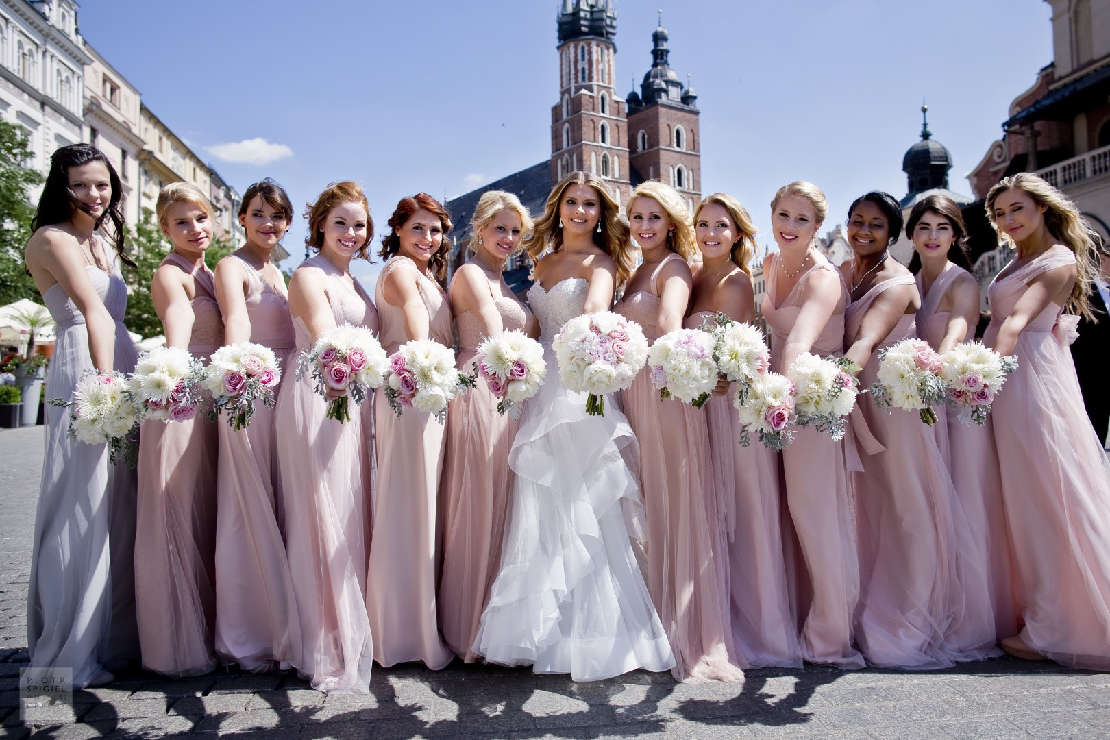 Wedding ceremony and reception  in Poland